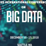 Invited talks at IEEE Big Data conference 2018