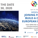 OPEN DEI Webinar: Joining forces to build a common European Data Space