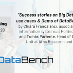 Watch the second DataBench Virtual BenchLearning!