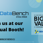 DataBench is Official Sponsor of EBDVF 2020!